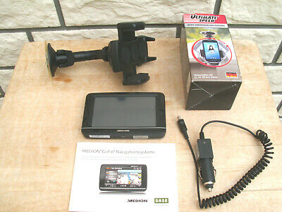 Navigation Medion GoPal E4230 - 4,3- Zoll Touch-Display,