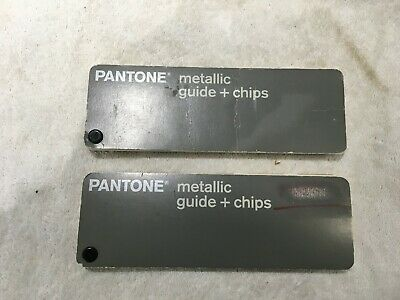 Pantone Metallic Guide + Chips