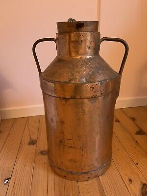 Beautiful Rare Vintage French Copper Dairy Churn Stunning Cafe Farm Agricultural