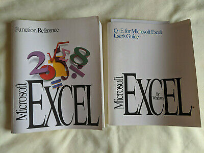 Microsoft Excel Function Reference and User Guide
