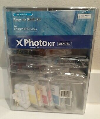 Easy REFILL INK Kit CARTRIDGE FOR EPSON Series X  PHOTO