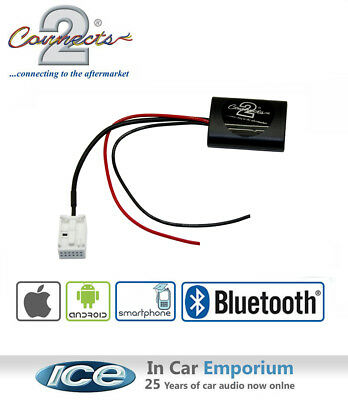 Peugeot 607 Bluetooth Music Streaming stereo adaptor, iPod iPhone Android