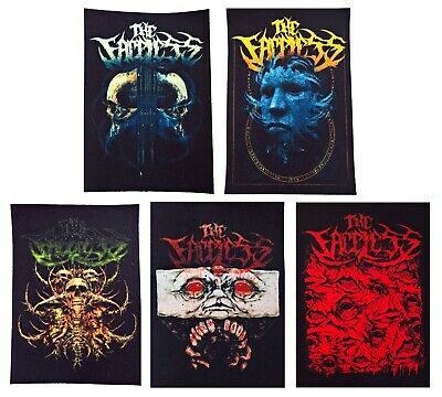 Anthrax textile printed patch sew on diy rock death speed thrash metal groove