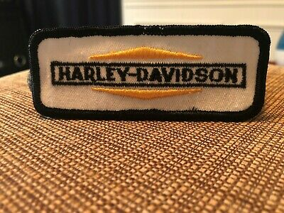 Vintage Harley Davidson Motorcycle Patch .. OLD STOCK !