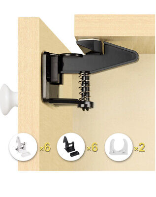 Baby Safety Locks - Uiter Baby Proofing Cupboard Locks & Cabinet Latches x12