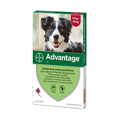 Bayer Adv. 250 for Large Dogs 4 Pipettes   FREE SHIPPING