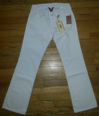 Lucky Brand White Maddy Straight Leg Jeans NWT $119