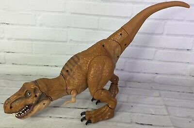 Hasbro Jurassic World Stomp And Strike Tyrannosaurus T-Rex Figure Toy With Sound