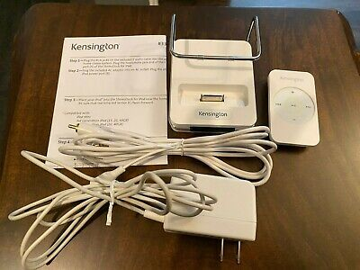 Kensington 33164 Stereo Dock for iPod, iPod Mini +Remote, Cables & Instructions