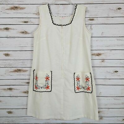 Vintage 1950's Kay Noble Women's House Dress *Stains* Size Large