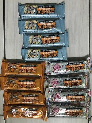 Grenade Carb Killa Cake Protein Bars Mixed 12 x 60g - 3 Flavours