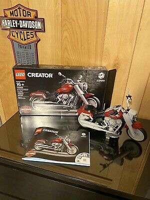 LEGO Creator Expert: Harley-Davidson Fat Boy (10269) Complete With Box