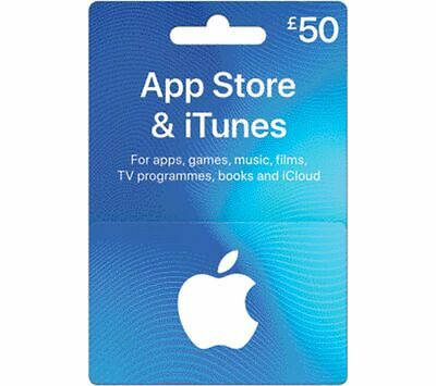 ITUNES £50 App Store & iTunes Gift Card - Currys