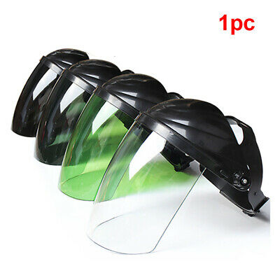 Safety Face Shield Clear Visor Full Face Eye Protection Grinding Welding Supply