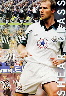 Alan Shearer SHEAR CLASS Newcastle United FC 1999 EPL Football Soccer POSTER