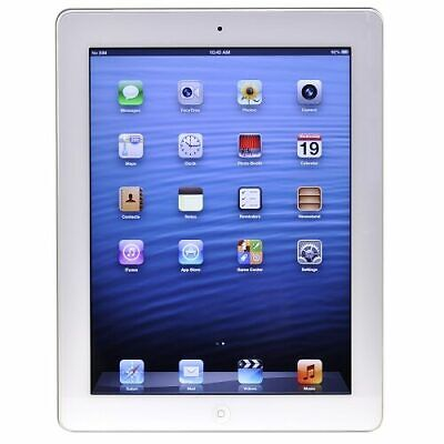 Apple iPad with Wi-Fi 16GB - White (3rd generation) (Etching) - B
