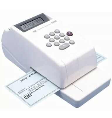Max Electronic Checkwriter EC-30A (Used Once)