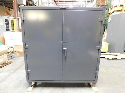 Strong Hold Locking Storage Cabinet 3 Shelf 55-243