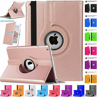 Leather Rotating Smart Stand Case Cover For Apple iPad 7th Generation 10.2  2019