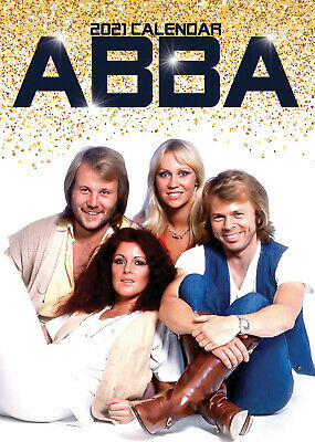 Abba 2021 A3 Poster Size Calendar New And Sealed