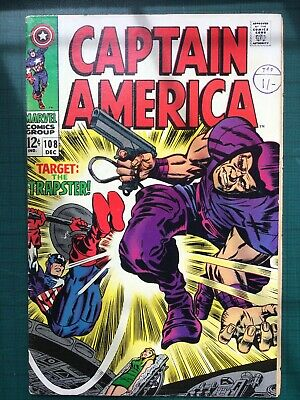 Captain America #108 - The Trapster - Jack Kirby