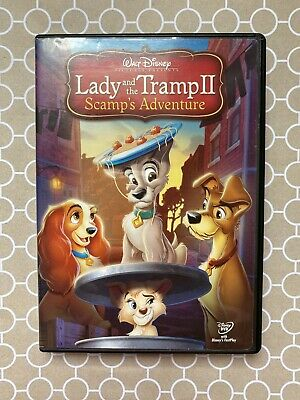 Lady The Tramp Ii Scamp S Adventure Does Scamp Really Want To Live Outside Dvd 28 99 Picclick