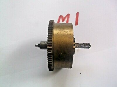 Mainspring Barrel From An Old 4X4 Westminster Chime  Mantle Clock  Ref M1