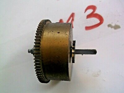 Mainspring Barrel From An Old 4X4 Westminster Chime  Mantle Clock  Ref M3