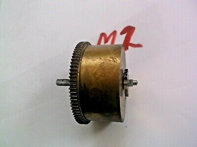 Mainspring Barrel From An Old 4X4 Westminster Chime  Mantle Clock  Ref M2