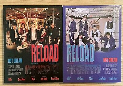 NCT Dream - RELOAD Official Album (Choose Ver)+ First Press Poster [NO PC/CC/MP]