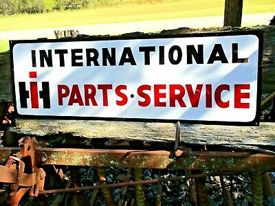 Vintage Style INTERNATIONAL HARVESTER Truck Parts Service IH Painted SIGN