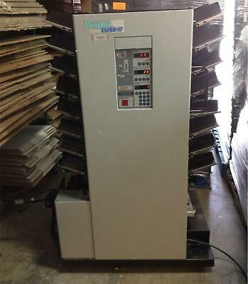 ???? Duplo Collator Esper-17 Used Working MUST SEE PICTURES ??