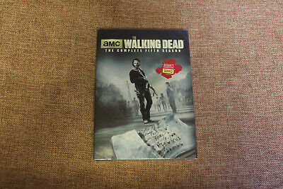 The Walking Dead Season 5 (NEW SEALED DVD 2015 5-Disc Set) Andrew Lincoln