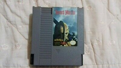 Sword Master (Nintendo Entertainment System, 1992) TESTED + AUTHENTIC