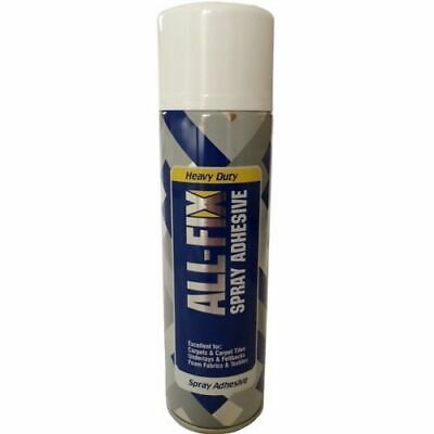 All fix Spray Contact Adhesive Glue Heavy Duty Mount DIY Crafting Upholstery