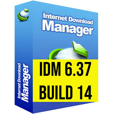 Internet Download Manager ✅ LATEST VERSION 2020 ✅ IDM 6.37 build 14