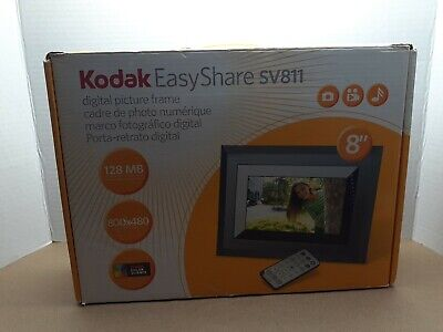 Kodak Easy Share SV811 Digital Picture Frame W/ Remote Control