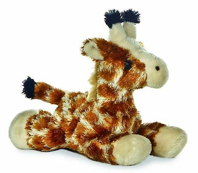 Aurora MINI FLOPSIE GIGI GIRAFFE Baby/Child 17cm Soft Teddy Toy/Gift Nursery New