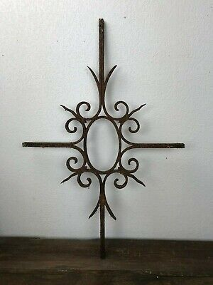 Antique Grill 19th in Wrought Iron, Fenestrou