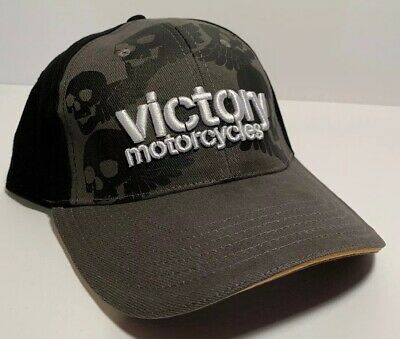 Victory Motorcycle Skulls Hat - Brand New