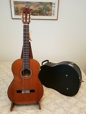 1978s Takamine C-134S Classical Guitar made in Japan w/ used Hard Case Xlnt Cond