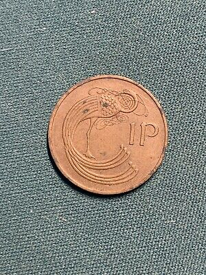 1975 Irish 1p Penny Coin