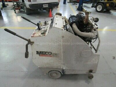 """MECO M42 - 30"""" commercial walk behind concrete saw"""