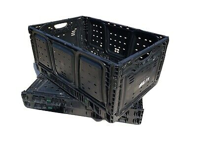 IFCO Collapsible Storage Crate, Lot of 3,  Fruit, Tools, Crafts, Supplies