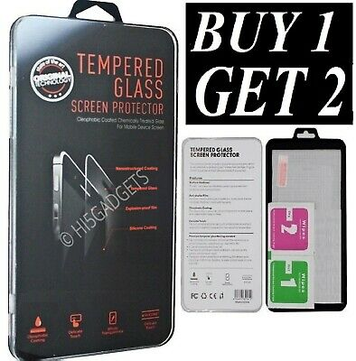 For Samsung Galaxy A20e A50 A40 A70 A10 Tempered Glass Screen Protector & Case