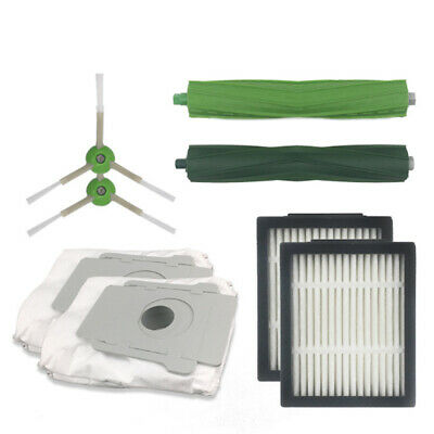 Accessories Kit for iRobot Roomba i7 Plus E5 E6 E7 Side Brush Filters Dust Bag