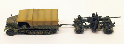 Solido 1/72 Scale S7200202 - Half Track Famo & 88mm Gun Germany 1945
