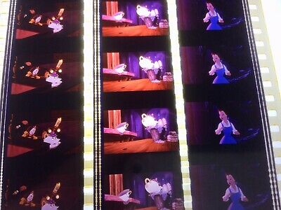 Disneys 1991 Beauty And The Beast Unmounted 35mm Film Cells P11