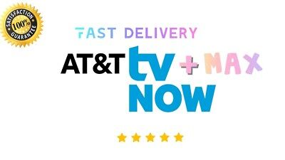 AT&T TV NOW | MAX | Account 1 Year Warranty -FAST DELIVERY