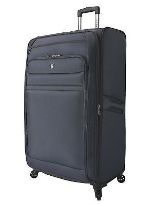 Travel Luggage Rolling Expandable Spinner Upright Suitcase Vacation Tote 32 Inch